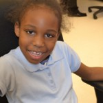"""""""This is pretty awesome,"""" said 7-year-old Aniyah Colbert, who tried out a basics typing lesson at the new learning lab."""