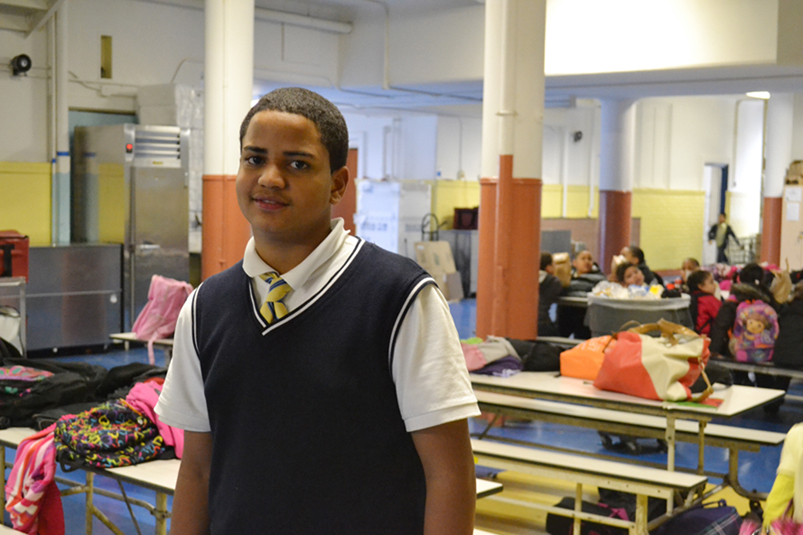 """Arah Paniagua has focused on his studies since the death of his older brother, and hopes to travel to Europe. """"I'm so excited about this trip,"""" said Arah."""