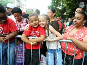Festival-goers of all ages enjoyed Carnaval.