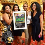 Las mujeres of the Bago Bunch, who were honored for their contribution to northern Manhattan's arts and culture. Photo Credit: Sandra E. García