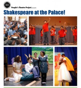 """The People's Theatre Project is putting on """"Shakespeare at the Palace!,"""" a presentation of students' year-long work with the plays of the English playwright."""