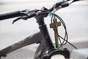 Esta era su bicicleta.