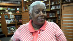 """Marva Allen, proprietor of Hue-Man Bookstore and Café in Harlem, just announced that the store would close. """"The industry is going through a tumultuous time,"""" said Allen."""
