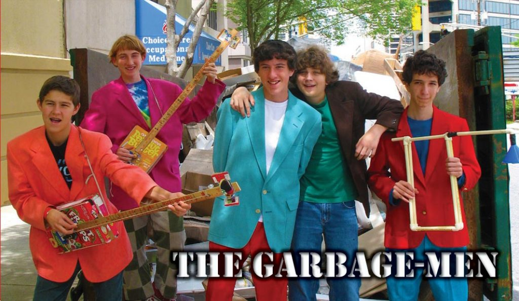 As part of its 75th year celebration, the Fort Tryon Park Trust hosts a series of events, including a live music concert with the Garbage Men. Photo: www.garbagemen.com