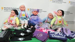 Joi Dolls were created to motivate and educate children, and to provide comfort for those suffering from illness.