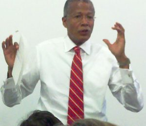 Councilmember Robert Jackson recently hosted a meeting to discuss redistricting concerns.