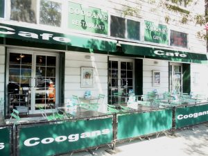 """""""I think it's probably well-intentioned but possibly not well thought out,"""" said David Hunt, a co-owner of Coogan's Restaurant (shown here)."""
