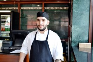 The carrot cake, says Pin Pan's head pastry chef Hansel Batista, is fast becoming the shop's signature dish.