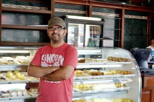 "Freddy Restrepo, co-owner of Pin Pan Bakery, said the shop aimed to satisfy a sweet craving as readily as a delicious Panini sandwich: ""We have something for you."""