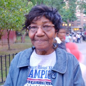 "Gladys Stevenson, a resident of over 40 years, said, ""We've had some ups and down, but our politicians have it under control."""