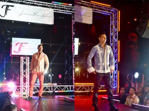 Some of the chacabana styles shown on the runway.
