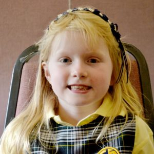 """Annie Carr is one of many in her family to attend the Catholic school founded in 1925. """"My dad came here; I think my mom…too."""""""