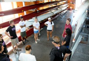 Row New York also offers corporate programs, private lessons, and offers the boathouse for private events, with all proceeds going to its youth programs, which are free.