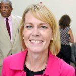 Aetna's Vice President Sharon Dalton presented a $25,000 grant.