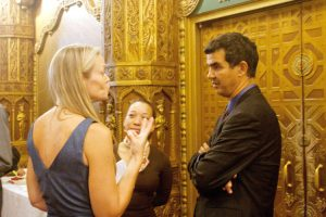 Director Anne Fitzgibbon spoke with Councilmember Ydanis Rodríguez.
