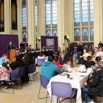 City College was host to a weekend conference on parental involvement in the city's public schools.