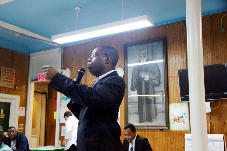West Harlem Democratic Leader Jamal Thomas expressed concerns about the new lines.