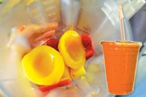 Obtenga su dosis diaria de fruta—y vitamina—en la forma de un delicioso 'smoothie'.