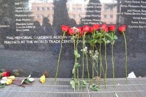 Hostos' Memorial Plaza commemorates the victims of the 2001 plane crash.