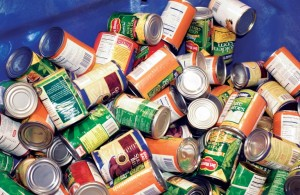 The 34th Precinct is serving as a collection site for non-perishable goods for the annual City Harvest Food Drive.