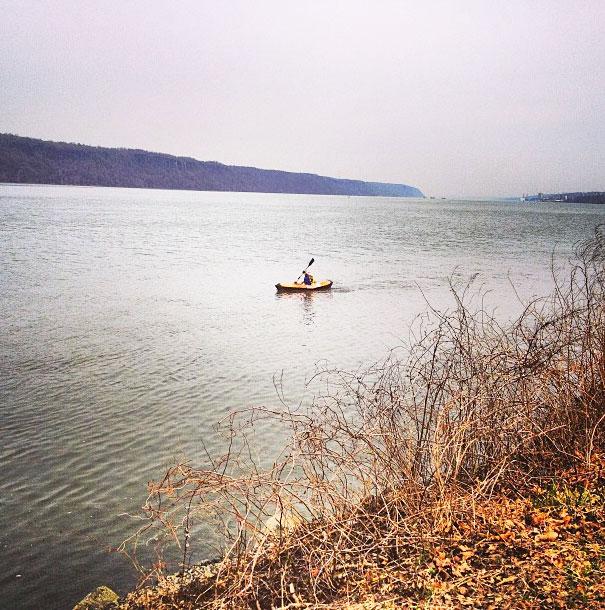Take a kayak trip.