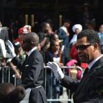 El desfile afroamericano, la celebración más antigua de su tipo en los Estados Unidos, se celebró en Harlem.