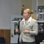 La Asambleísta Gabriela Rosa.
