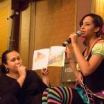 Lecturas de literatura infantil y presentaciones de Skraptacular Studios. Foto: M. Cummings