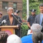 Paulette Shomo, Presidenta de la Asociación de Inquilinos de Marble Hill Houses.