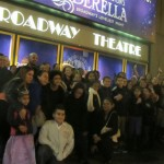 Uptown families attended Cinderella as part of the Viva Broadway initiative.