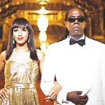 Artist GPK filmed his video Bouger at the Palace, where he and actress Charlie LeGrice re-created Casablanca.
