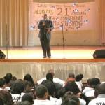 El reverendo Alfonso Wyatt fue el orador principal.