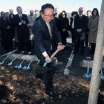 """""""We are thrilled to take the first step today to build our new headquarters on a wonderful 27-acre property right here in our hometown,"""" said Wayne Park, President and CEO of LG Electronics USA. Photo: LG Electronics USA"""