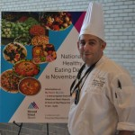 Matthew Krimsky, Senior Executive Chef of Mount Sinai's Food and Nutrition Services, unveiled the new menu.