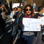 """""""We all see this as an assault against Dominicans of Haitian descent,"""" said one protestor."""