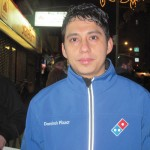 """It is not enough,"" said Domino's delivery worker José Rudi Peréz."