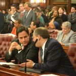 Councilmember Dan Garodnick, before conceding to Councilmember Melissa Mark-Viverito.