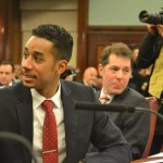 """""""Now, there will be salsa in the municipal chambers,"""" said Brooklyn Councilmember Antonio Reynoso."""