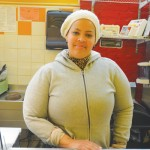 """""""A combination of sweet and savory,"""" explains employee Yaquenia Vargas of the menu."""