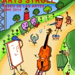 The winning poster of this year's Uptown Arts Stroll.
