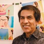 """It's a great pride to share it with everybody,"" said artist Felipe ""Feggo"" Galindo. Photo: Sherry Mazzocchi"