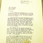 A letter from Malcolm X, written just days before his assassination.