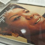The exhibit, curated in response to Angelou's passing, features several artifacts from her estate.