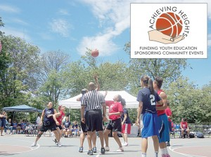 The Achieving Heights organization supports youth education, sports and mentoring.