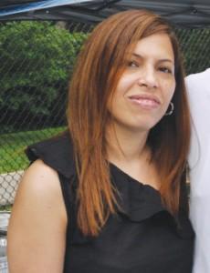 Entre los visitantes estaba Seny Taveras, Directora Ejecutiva de 'CUNY in the Heights.'