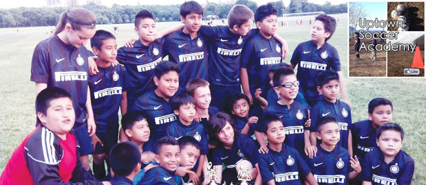 Uptown Soccer Academy participants have been following the World Cup.