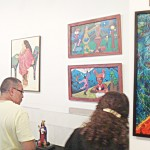 """The """"Aquí está El Barrio"""" group exhibit is sponsored by the Puerto Rican Institute for the Development of the Arts (PRIDA)."""