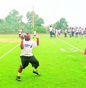 The Chris Canty Foundation's Fourth Annual Camp of Champions was held at George Washington High School.
