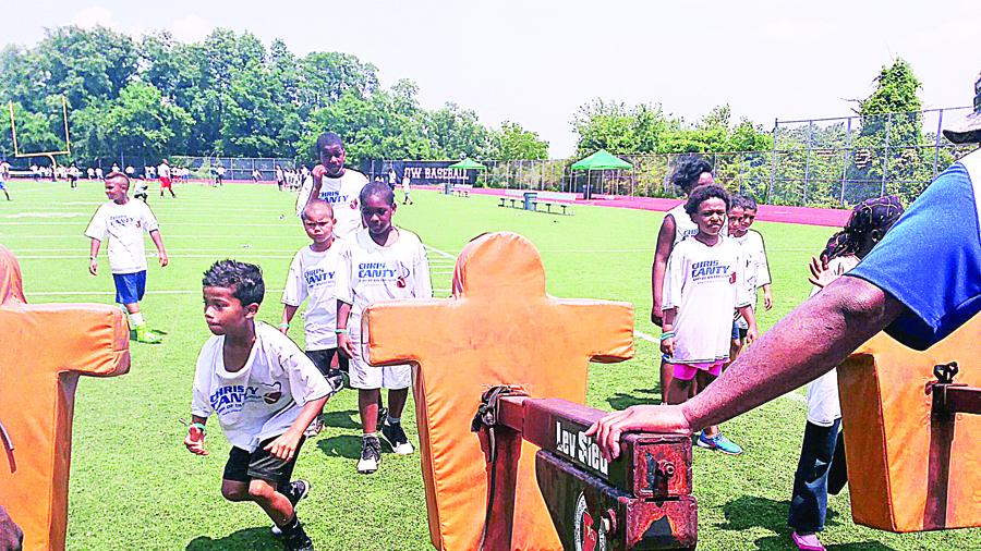 Los participantes tenian entre 8-16 años de edad.