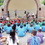 The Dare to Go Beyond (DGB) summer arts camp closed its season at Jackie Robinson Park.